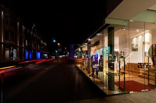 Sagmeister – Fotos vom Modehaus in Bregenz